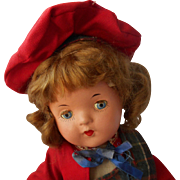 Reliable Doll from Canada in Scottish Plaid