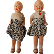 Ceramic Twins Vintage 1930's or 40's