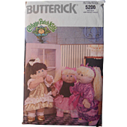 Cabbage Patch Kids pattern with iron on logos