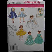 "Ginny, Muffie  other 8"" doll Wardrobe Pattern"