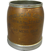 "1911 Trophy Cup, ""Republican Outing Fat Mens Race"", John Frick Jewelry Co."