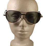 Vintage Japan Aviator Sunglasses ~ Mid Century Man ~