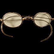 Antique GF Eyeglasses Circa mid 1800's