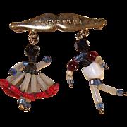 Mid Century Hand Crafted Cuba Beaded Souvenir ~ Souvenir Havana ~