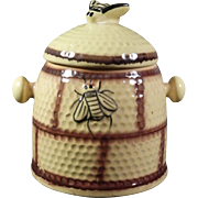 Vintage Bee Hive Biscuit Jar Cookie Jar~ House of Webster Ceramics~ Eastland TX
