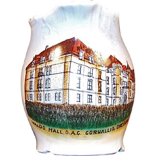 Oregon State Univ Waldo Hall O.A.C. Corvallis, Oregon Souvenir ~Early 1900's