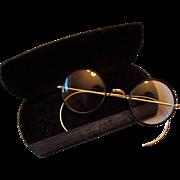 Antique Gold-Filled Zylo Windsor Eyeglasses