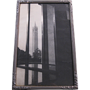 1930s Framed Photograph, Sather Tower, UC Berkeley