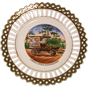 Raymond, Wash Garrett's Grocery Delivery Truck Souvenir Germany Early 1900's