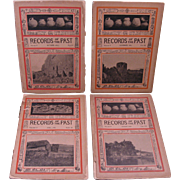 """Four 1906 Issues """"Records of the Past"""" Magazine"""
