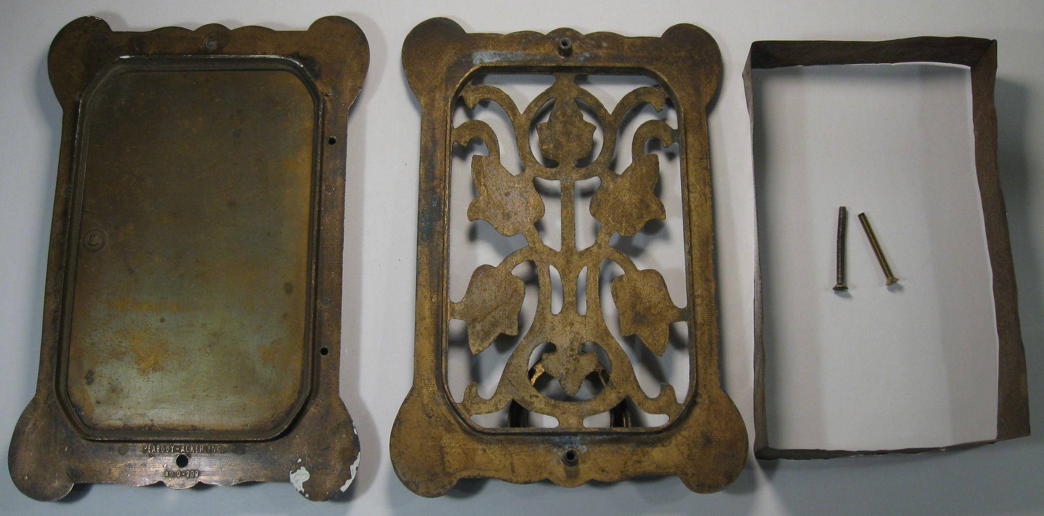 Door knocker with peephole speakeasy brass c 1930 by from cygnet antiques on ruby lane - Door knocker with peep hole ...