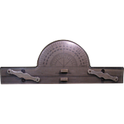 1944 WWII Parallel Ruler & Protractor, U.S. Maritime Commission