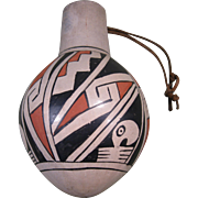 Casas Grandes Polychrome Jar, Stylized Macaws