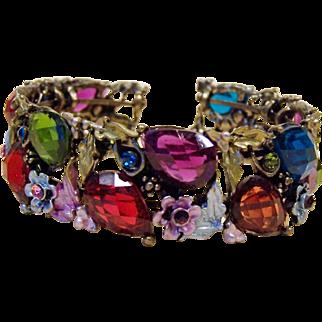 Colorful Vintage Blingy Bracelet