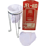"JEL-AID, ""the answer to the jelly straining problem"", 1950s, Huot Mfg, St. Paul"
