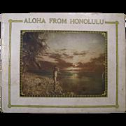 "1915 Book ""Aloha From Honolulu"", Original, First Edition"