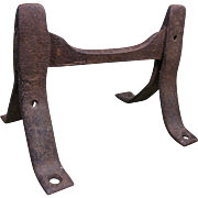Old West Wrought Iron Boot Scraper