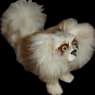 "Wonderful Fur Tibetan Spaniel for Fashion Doll, 4"" tall"