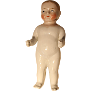 Blonde Frozen Charlie China Boy Doll, 7 inches tall, Restored Toes