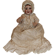 SFBJ 236 Laughing Closed Mouth Character Doll, Jumeau, Baby SFBJ Character Body, 16 1/2 inches