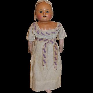 "Early 18 1/2"" Motschmann Child Doll"