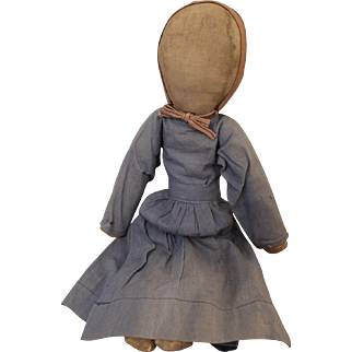 Vintage Amish Rag/Cloth Doll, 14 inches
