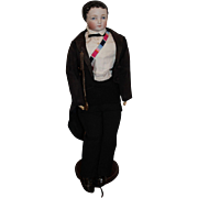 Very Rare French Gentleman by Eugene Barrois Fashion Doll, 21 inches