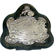 """An Antique Silver """"Toogood Championship"""" Trophy, 1912."""