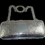 An Antique Silver Purse, 1906.