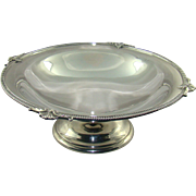 A George V Silver Fruit Bowl, 1925.