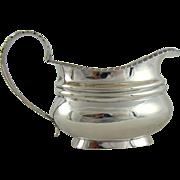 An Antique George IV Silver Cream Jug, 1820.