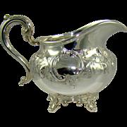 An Early Victorian Silver Milk Jug, 1845