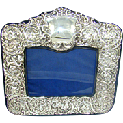 A Good Quality Vintage Silver Photograph Frame, 1994