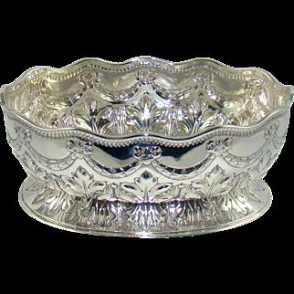 A Quality Antique Silver Bowl, 1882.