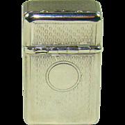 An Unusual Antique Silver Vesta/Snuff Box, 1859.