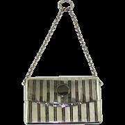 An Art Deco Silver Purse, 1938