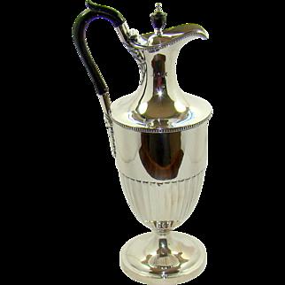 A Very Impressive Victorian Silver Water Jug, 1892.