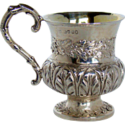 A William IV Silver Christening Cup, 1833.