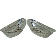 A Pair Of George V Pierced Silver Baskets, 1921.