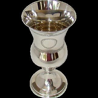 A George VI Silver Kiddush Cup, 1966.