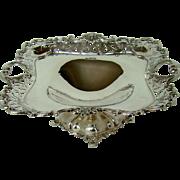 An Antique Silver Fruit Bowl, 1905.