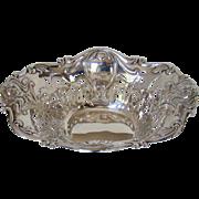 An Antique Silver bon-bon bowl, 1909