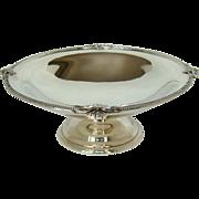 A Vintage Art Deco Silver Fruit Bowl, 1925.