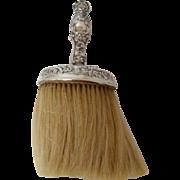 A Victorian Silver Crumb Brush, 1895.