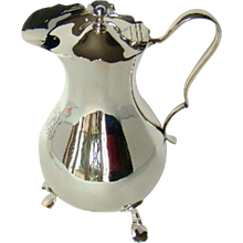 A Large Antique Sterling Silver Jug, 1904