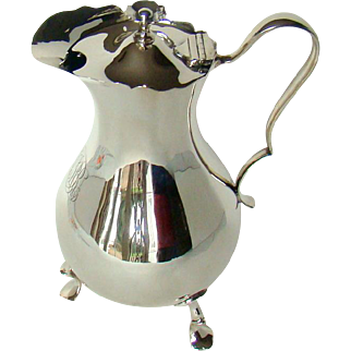 A Large Antique Sterling Silver Jug, 1904
