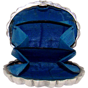 A Small and Enchanting Antique Silver Purse, 1886.