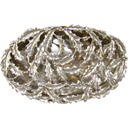 An Edwardian Silver Pot Pourri/Pill Box, 1909.