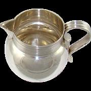 A George V Silver Milk Jug, 1930.