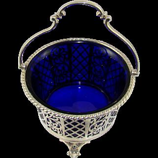 A George VI Silver Sugar Basket, 1937.